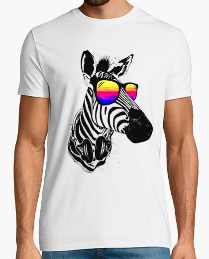 Camiseta cebra fresca