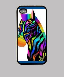 cebra multicolor