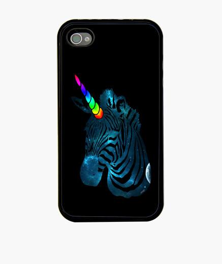 Funda iPhone cebra unicornio galaxia 2