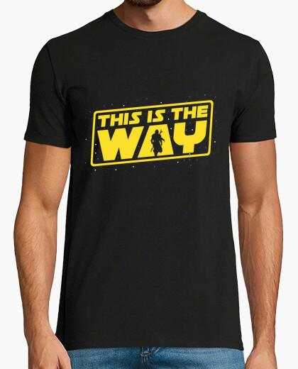 Tee-shirt ceci est le chemin