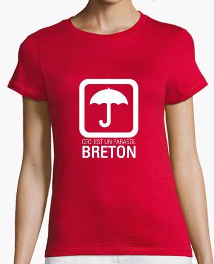 Tee-shirt Ceci est un parasol breton