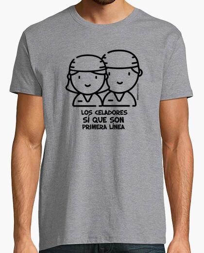 Camiseta Celadores negro