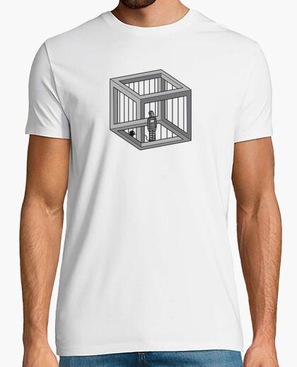 Camiseta Celda de Escher