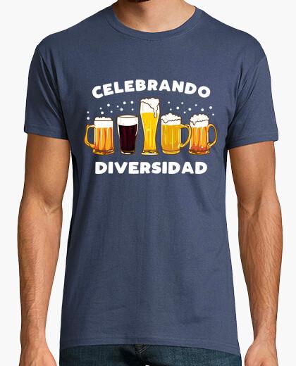Camiseta Celebrando Diversidad Cervezas