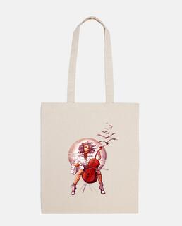 cello bag girl