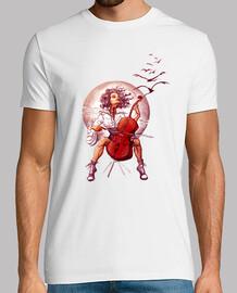 cello boy t-shirt