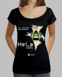 cellules hela ∞ (les arrière-plans sombres)