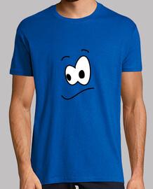 celui qui doute - homme, jaune à manches courtes.