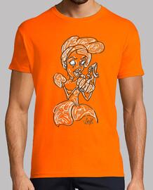 cendrillon citrouille princesse orange foncé