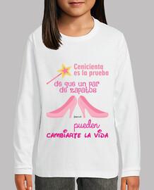 cenicienta_bambina, camiseta