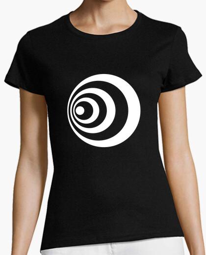 T-shirt cerchio effetto doppler