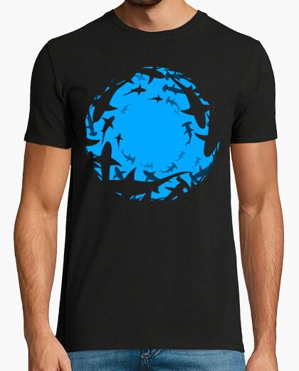 Tee-shirt cercle de requin