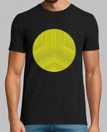 cercle jaune minimale
