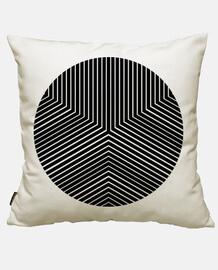 cercle minimal noir