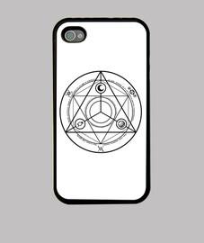 Cercle Occulture Noir iPhone 4/4S