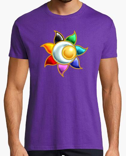 Tee-shirt cercle solaire symbole t-shirt homme