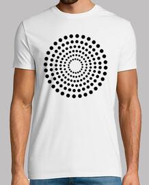 cercles de points noirs