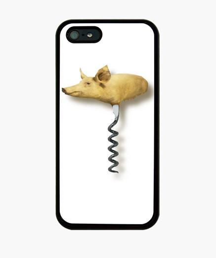 Funda iPhone Cerdito abrebotellas