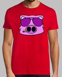 cerdo cara del dibujo