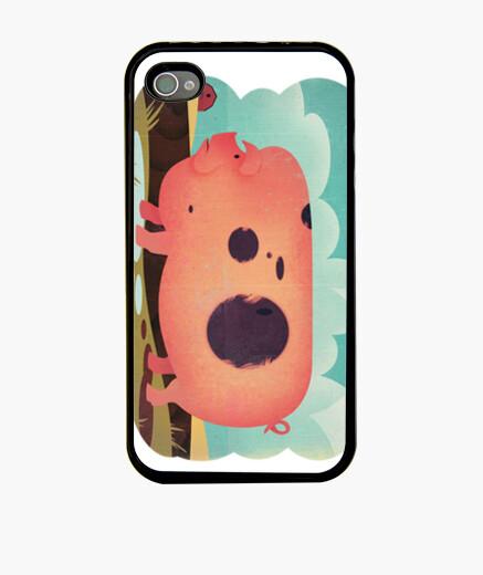 Funda iPhone cerdo de la vendimia