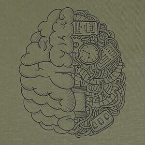 Camisetas Cerebro tecnológico