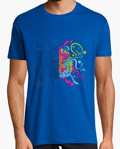 Camiseta Cerebro tormenta de ideas