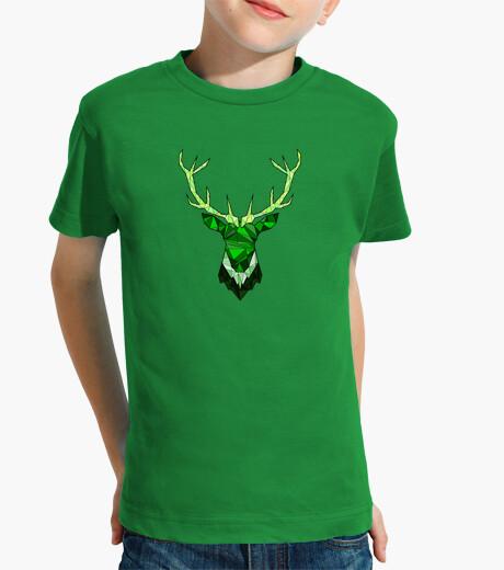Vêtements enfant cerf hippie vert