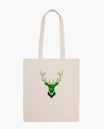 Bolsa Cerf Hipster Vert