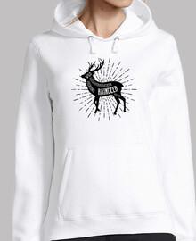 cerf silhouette design animal