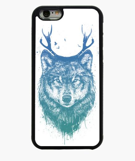 Coque Iphone 6 / 6S cerfs de loups colorés