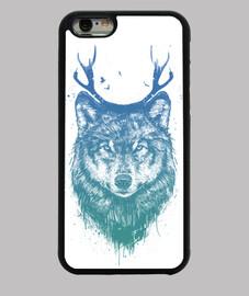 cerfs de loups colorés