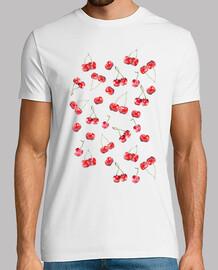 cerise pattern (t-shirt)