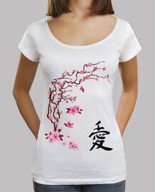 cerisier japonais - calligraphie