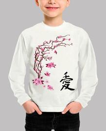 Cerisier japonais - calligraphie quot l