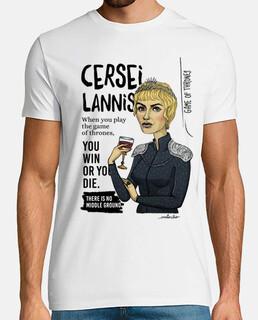 Cersei camiseta chico
