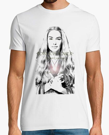 Camiseta CERSEI LANNISTER, POWER IS POWER