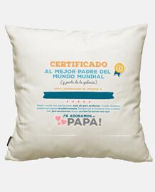 Certificado al Mejor Padre del Mundo