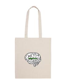 Cerveau chargement loading tote bag
