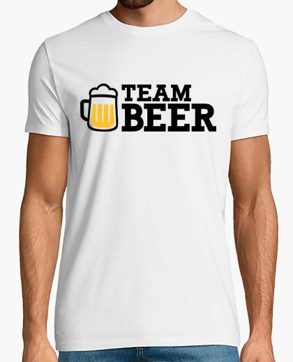 Camiseta cerveza equipo