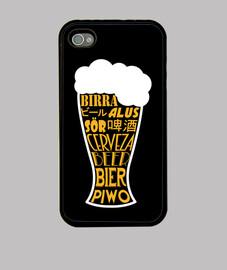 Cerveza idiomática funda