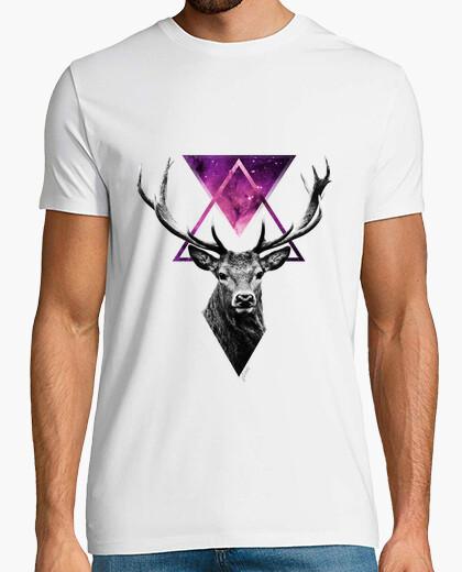 T-shirt cervo hipster