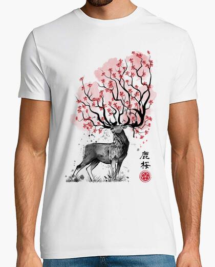 T-shirt cervo sakura