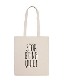 cesser d'être calme