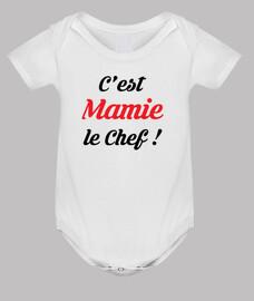 C'est Mamie le chef !