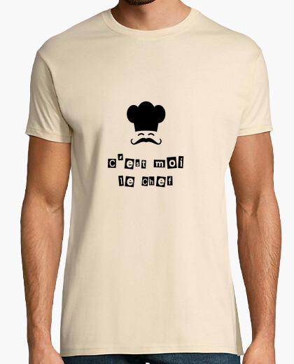 Tee-shirt C'est moi le chef