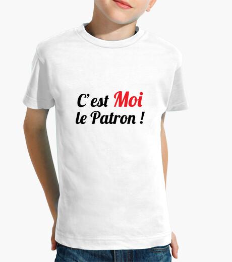 Vêtements enfant C'est Moi le Patron ! Humour / Boss
