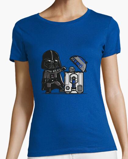 T-shirt cestino robotica
