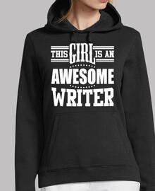 cette fille est un écrivain génial