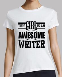 cette fille est une écrivain extraordinaire