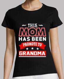 cette maman a été promue grand-mère